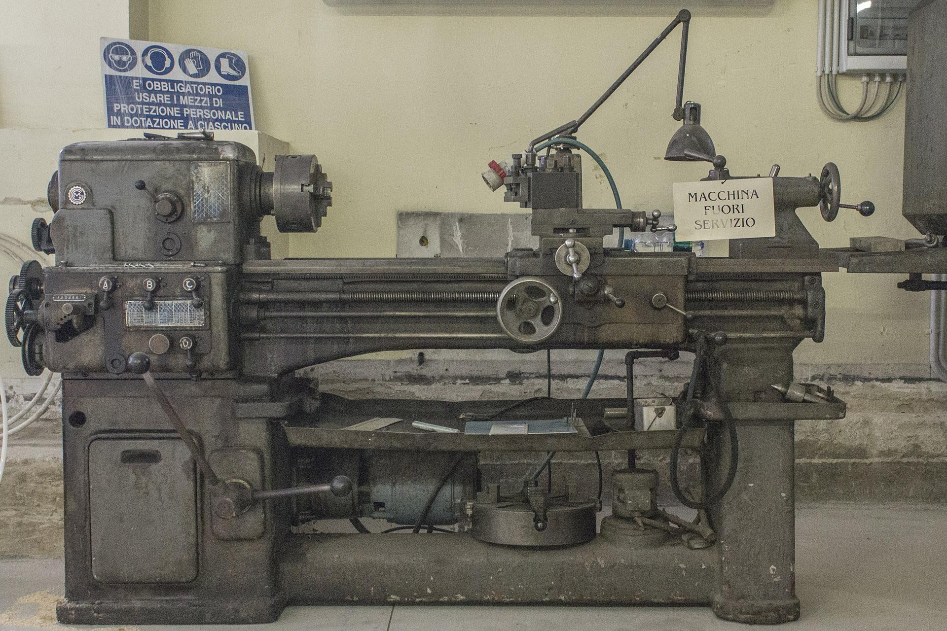 LPT: antica macchina per la lavorazione